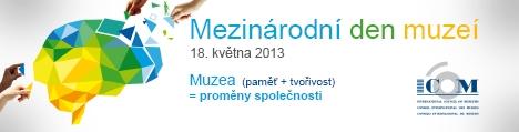 Mezinárodní den muzeí 18.5.2013