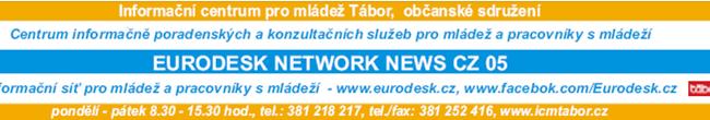 26.2.2014 - Infolisty Mládež a svět - Eurodesk - ICM Tábor