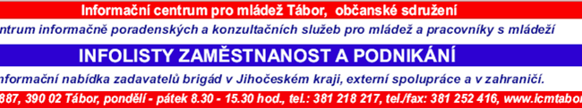 27.2.2014 - Infolisty brigády ICM Tábor