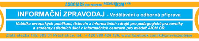 18.3.2014 informační zpravodaj AICM ČR pro střední školy-vzdělávání a odborná příprava