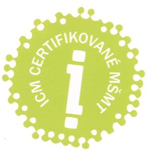 známka kvality ICM průhledné