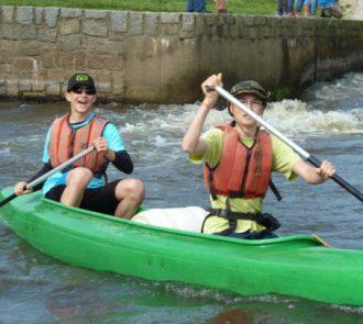 Vzdělávací kurz Instruktor vodní turistiky č.2