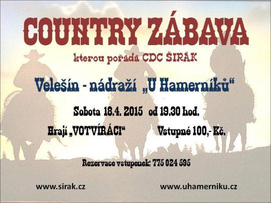 COUNTRY ZÁBAVA