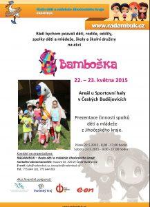 Pozvánka  Bamboška 2015 22.-23.5.2015