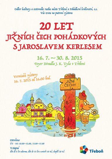 Výstava Kerlese v Třeboni - web
