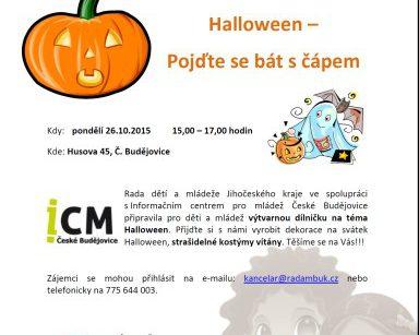 Halloween - Pojďte se bát s čápem