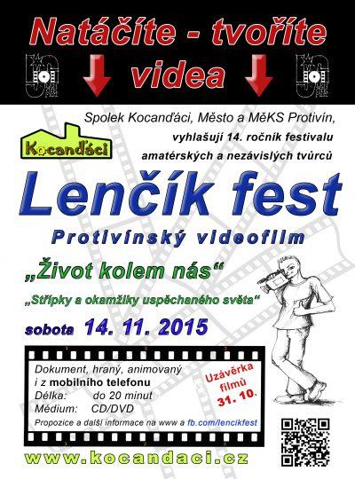 Protivínský videofilm http://protivinskyvideofilm.webnode.cz www.kocandaci.cz www.fb.com/lencikfest #kocandaci #lencikfest #protivin #ProtivinNet Radek Lenemajer- fotograf Protivín a okolí, grafické práce, počítačové konzultace a kurzy - word, excel, internet www.lencik.cz / www.lefoto.cz #lencik #grafikaprotivin #protivin #Lefoto