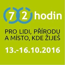 72 HODIN - ZAPOJTE SE A POMÁHEJTE TAKÉ!!! 13.-16.10.2016