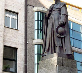Pomník J.V. Jirsíka - České Budějovice