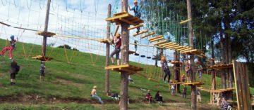 Lanový park Lipno
