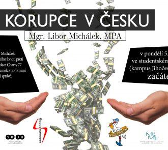 Korupce v Česku – přednáška