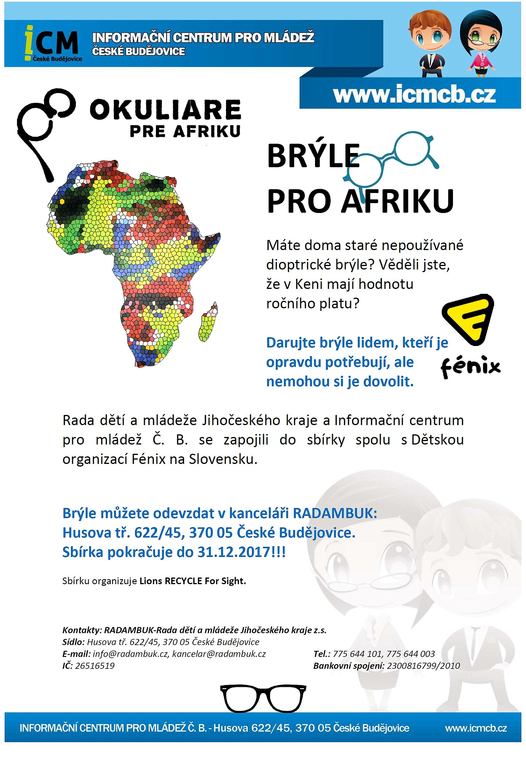 Brýle pro Afriku - ICM Č.B. 2017