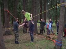 Doškolovací kurz - Instruktor lanových aktivit - 25.6.2017