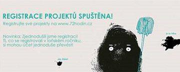 72 hodin – Registrace projektů 72 hodin spuštěna!!! Zapojte se také!!!