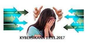 Kurz – Kyberšikana pro pracovníky s dětmi a mládeží ve spolcích – 13.11.2017