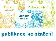 Aktualizované publikace Práce v zahraničí, Dobrovolnictví a Studium v zahraničí ke stažení na webu NICM