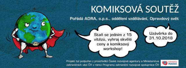 Komiksová soutěž - Promluv k světu bublinou!