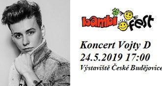 BAMBIFEST – koncert Vojty Drahokoupila