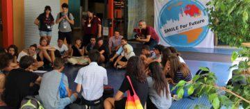 Mezinárodní summit studentů stávkujících za klima v Lausanne