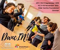 DANCIN!, APV 10.-11.9., YE 9.-18.11.2019, HOLANDSKO