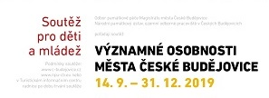 Osobnosti Českých Budějovic – poznávací soutěž pro děti a mládež