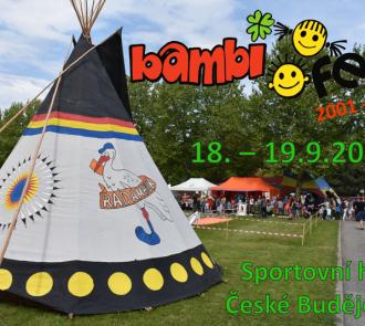 BAMBIFEST 18.-19.9.2020 České Budějovice- změna termínu!!!