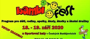 BAMBIFEST 2020 – 20. ročník se vydařil