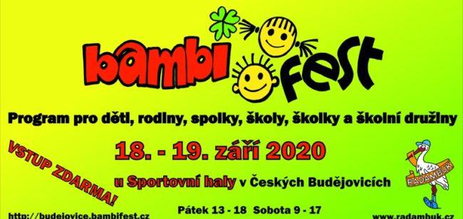 BAMBIFEST 2020 - 20. ročník se vydařil