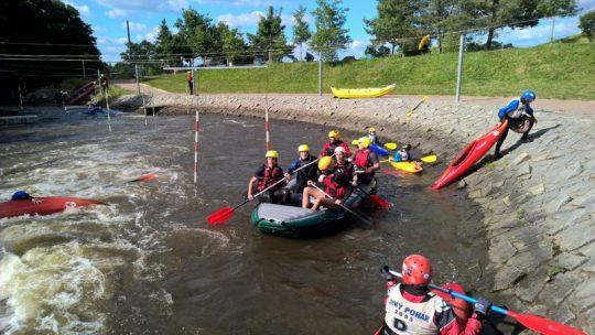 Kurz instruktor vodní turistiky