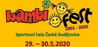 Přihlášky pódiová vystoupení BAMBIFEST 29.-30.5.2020 České Budějovice