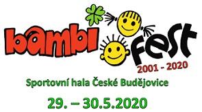 Přihlášky prezentace ve stánku BAMBIFEST 2020