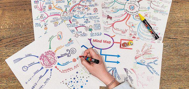 Myšlenkové mapy: Zorganizujte si své myšlenky kreativně a efektivně