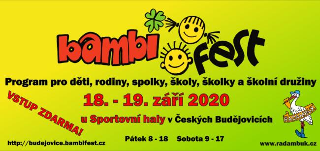 BAMBIFEST 2020 - koncert kapely Koníček