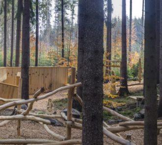 Areál lesních her Prachatice