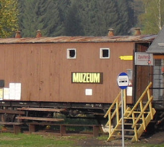 Minimuzeum šumavských lokálek