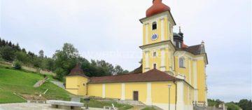 Poutní Kostel Panny Marie Těšitelky – Dobrá Voda U Nových Hradů