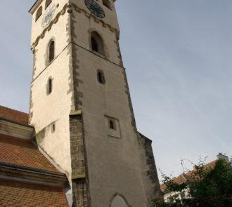 Vyhlídková věž kostela sv. Vavřince