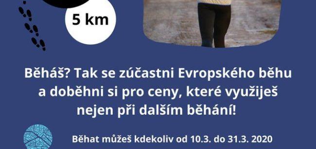 Evropský běh 10. - 31. 3. 2021