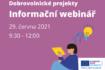Evropské příležitosti pro mladé – 29.6.2021 webinář
