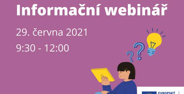 Evropské příležitosti pro mladé - 29.6.2021 webinář