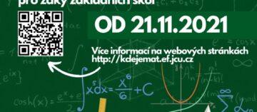 Kde se všude skrývá matematika – online soutěž od 21.11.2021- projekt Mládež kraji – kraj Jihočeský